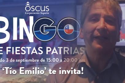 El 'Tío Emilio' nos invita a colaborar en el Bingo de #OscusPuente